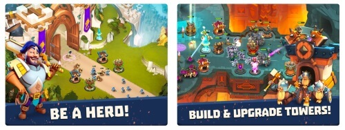 Castle Creeps TD Tower Defence Game