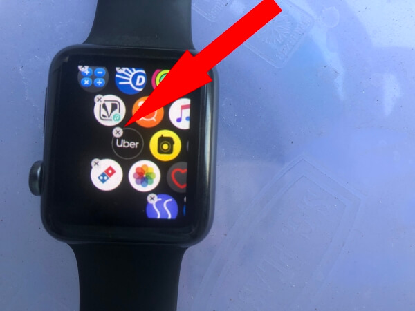 Delete App on Apple Watch for Reinstall