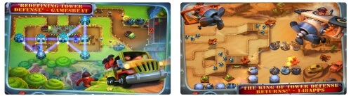 Fieldrunners 2 tower game for iPhone