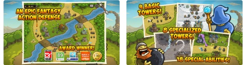 Kingdom Rush Tower Game for iPhone