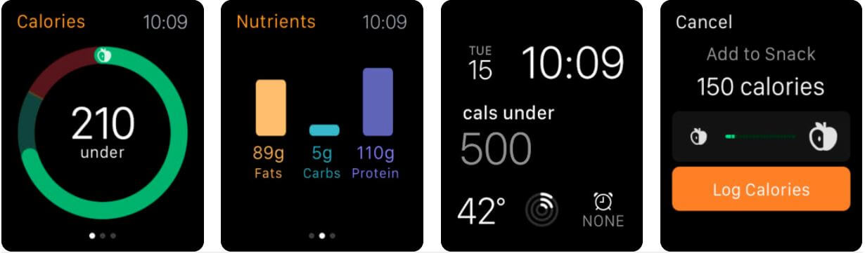 Lose it Apple watch calorie-counter app