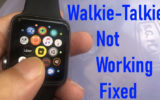 Walkie Talkie not working on Apple Watch fixed