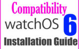 WatchOS 6 Compatible Apple Watch