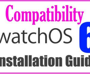 WatchOS 6 Compatible Apple Watch
