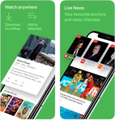 hotstar app for Watch Cricket online on iOS device