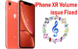 iPhone XR Volume issue fixed