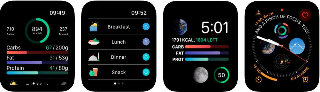 lifesum calorie counter app for apple watch