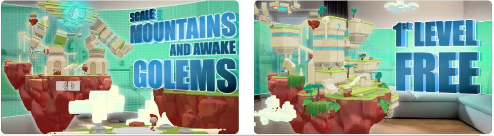 AR Puzzle Game for iPod Touch