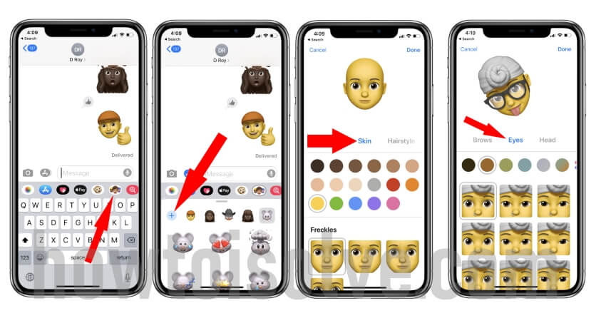 Add new Custom Memoji Stickers in iOS 13 on iPhone and iPad