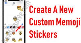 Create a New Custom Memoji Stickers in iOS 13 free in apple keyboard