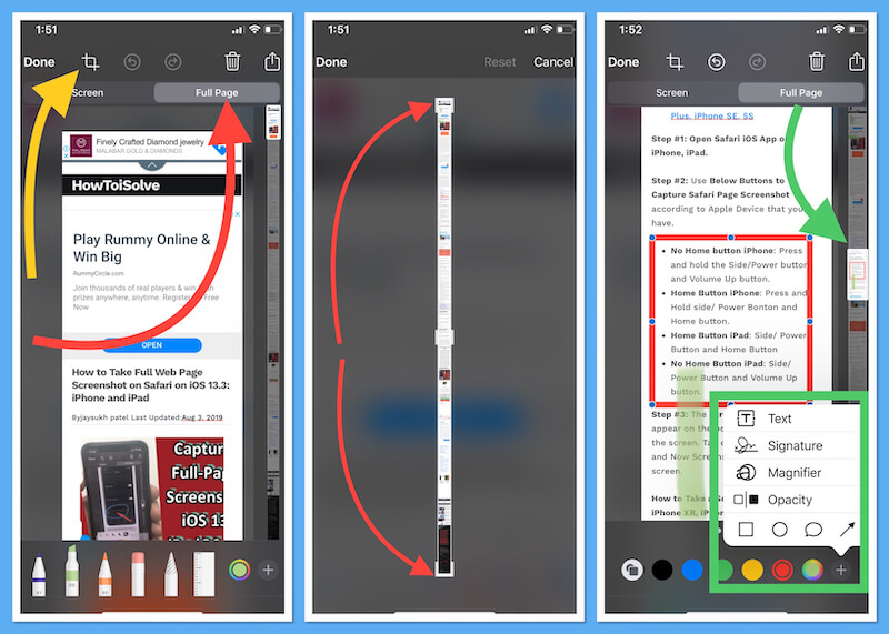 Edit PDF file Before save to iPhone