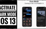 Enable Dark Mode iOS 13 iPhone and iPad