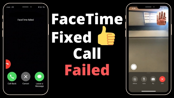 FaceTime Call Failed on iPhone and iPad-3