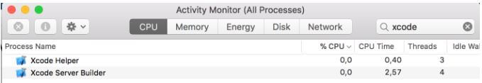 Shutdown XCode Server on Mac