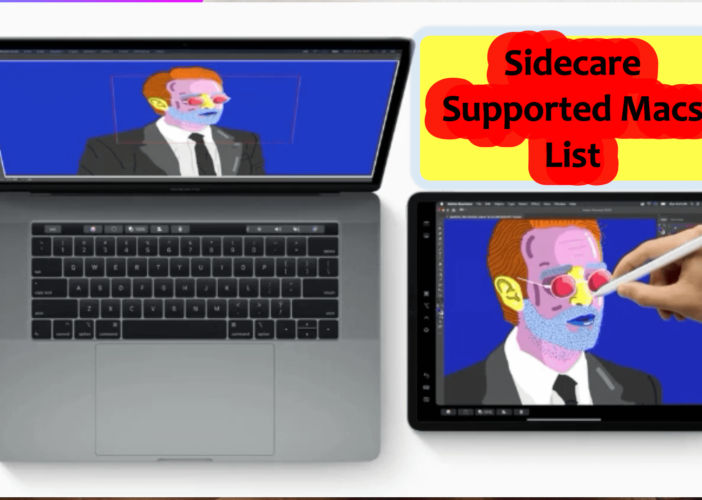 Sidecare supported Macs List