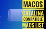 macos catalina supported macs list