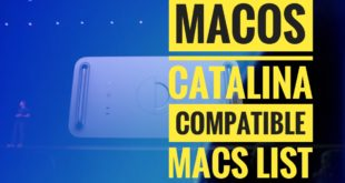 macos catalina supported macs list