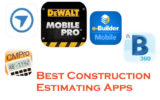 Best construction estimating apps