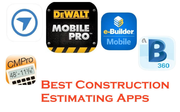 Best Construction Estimating Apps for iOS and Android 2019