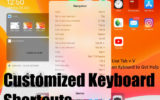 Customise or Change External Keyboard Shortcut on iPadOS