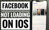 facebook won't load iPhone