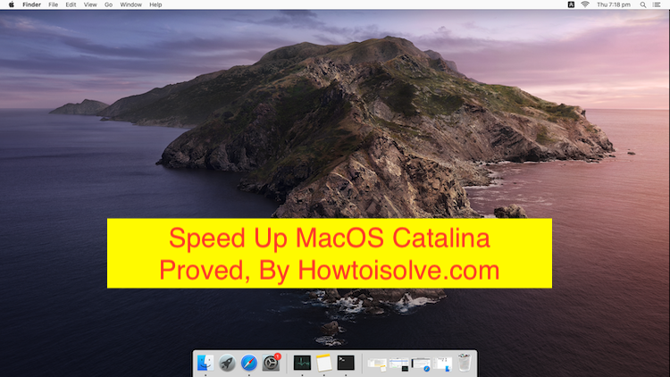 11 Ways to Speed Up MacOS catalina