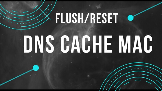 Command Line for Reset and Flush DNS Cache on macOS Catalina