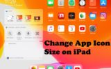 Change App Icon Size on iPad