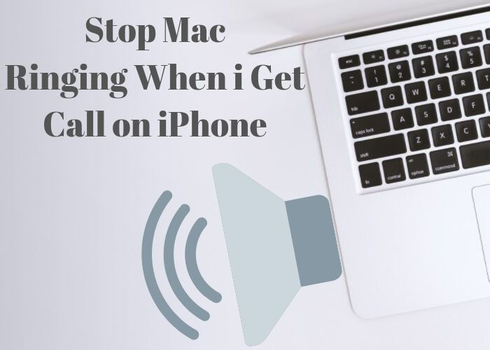 Stop Mac Ringing When i Get Call on iPhone