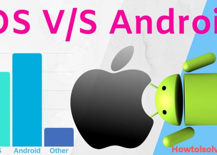 Difference between iOS vs Android