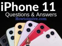 Apple iPhone 11 Questions Answers everything need to know