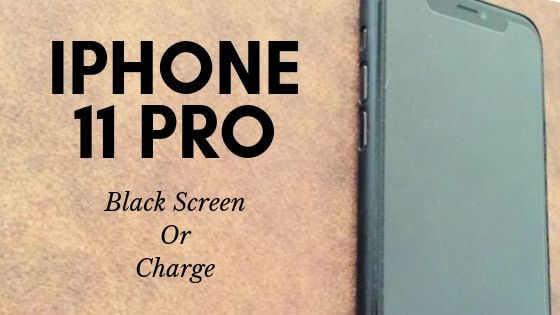 iPhone 11 Pro won't turn on and Charge so it's black screen