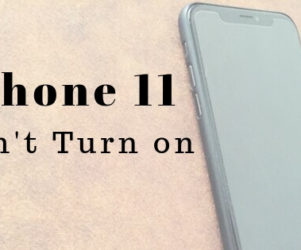 iPhone 11 has not Enough power to turn on