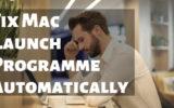 Fix Mac FaceTime Launch Programme Automatically