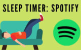 Turn on or Turn off Sleep Timer on Spotify iPhone app