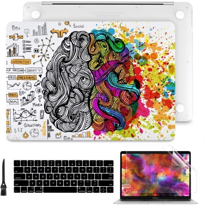 Hard Shell Case for Newest MacBook Pro 16-inch Retina Display with Touch Bar & Touch ID