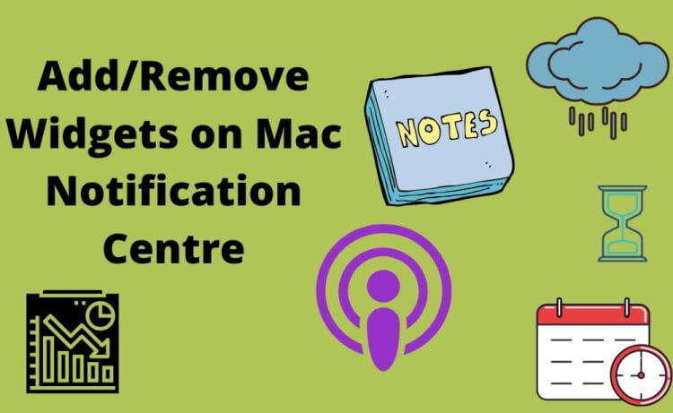 How to Add Widgets in the macOS Big Sur MacBook Mac