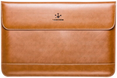LENTION Leather MacBook Pro 16-inch Magnetic Closure Case Under $40