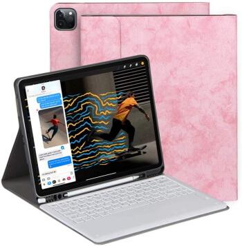 BLIENCE iPad Pro 12,9-дюймовый чехол для клавиатуры 4-го поколения