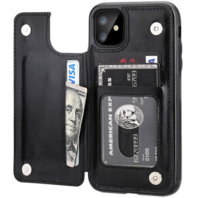 OneTop best iPhone 11 Slim Wallet Case