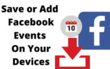 Save or Add Facebook Events on iPhone, iPad, MacBook Mac Calendar app