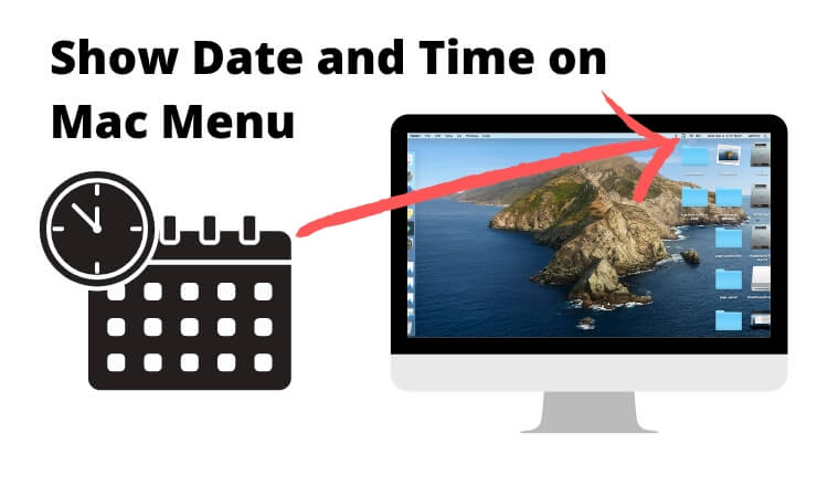 Show Date and Time on Mac Menu