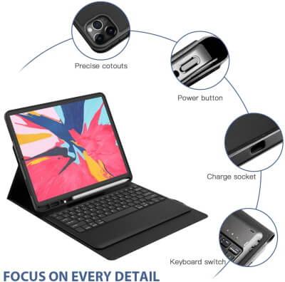TORUBIA Keyboard Case for iPad Pro 12.9-inch
