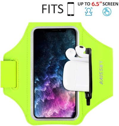 Повязка на руку с сумкой AirPods для iPhone SE 2020