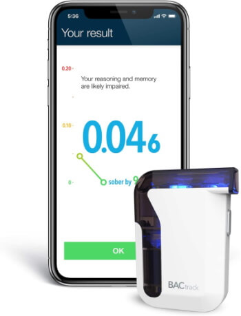 BACTrack Breathalyzer for Smartphone