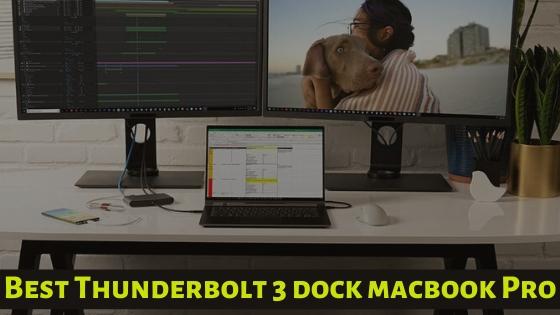 Best Thunderbolt 3 dock macbook Pro 16