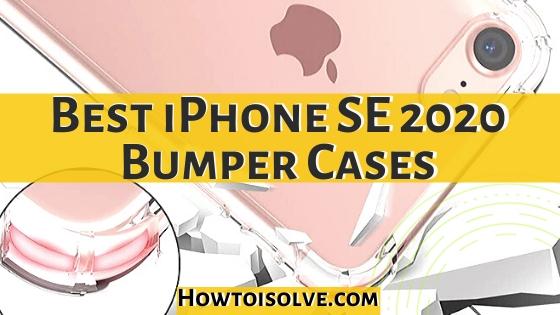 Best iPhone SE 2020 bumper cases