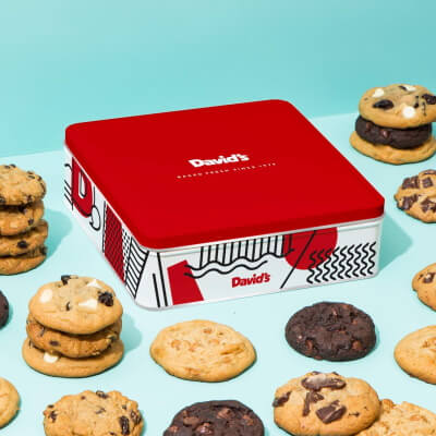 Cookies Box - Valentine's Day Gift Ideas for her
