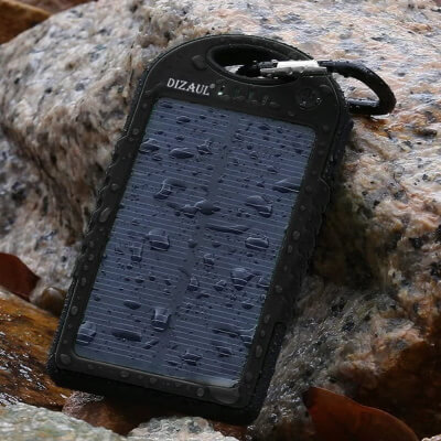 Dizual Portable Solar Power Bank