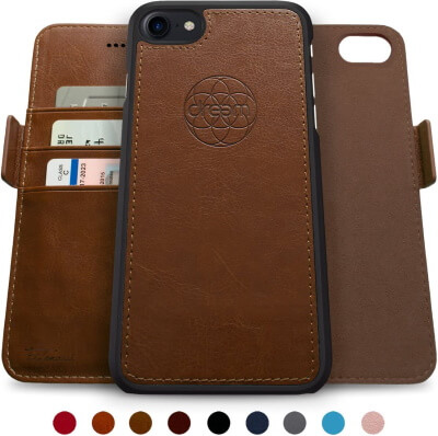 Dreem Fibonacci Detachable Wallet Leather Case